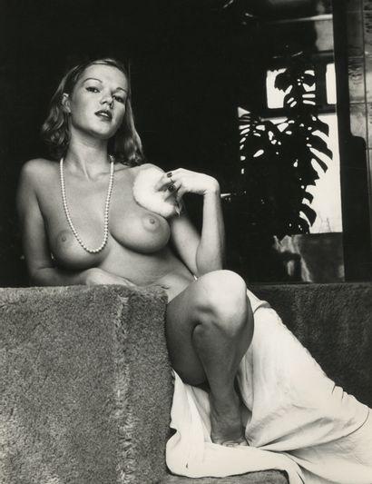 Photographe non identifié Brigitte Lahaie,...