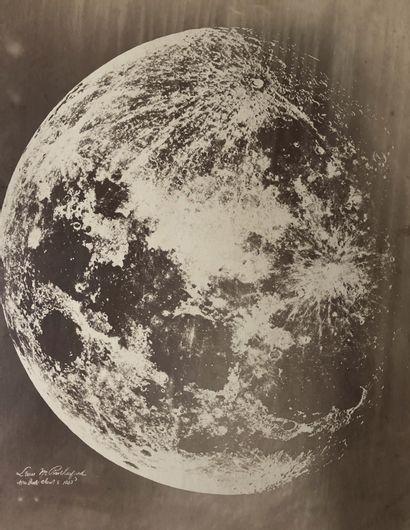 Lewis Morris Rutherfurd (1816-1892) La Lune,...