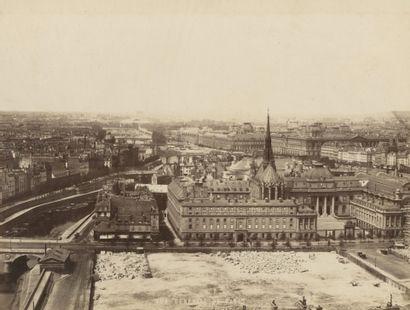 Achille Quinet (1831-1907) Palais de Justice...