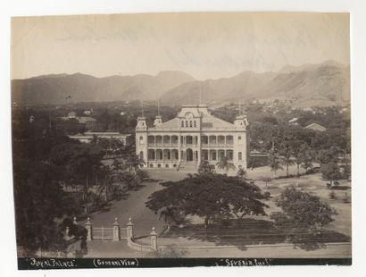 Théo. P. Severin Hawaï. Honolulu, Palais...