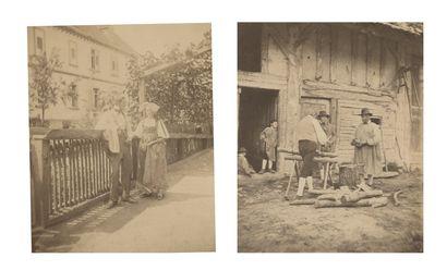 Charles Lallemand (1826-1904) Alsace et l'ancien...
