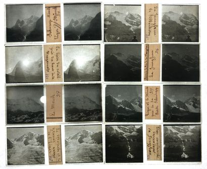 Photographe non identifié Alpes suisses,...