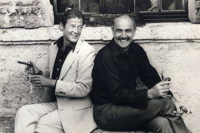 Philippe Ledru (1942) Sean Connery et Roger...