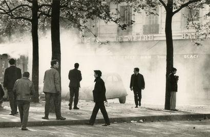 Claude Dityvon (1937-2008) Rue des Ecoles,...