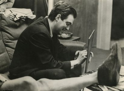 Photographe non identifié Stanley Kubrick...