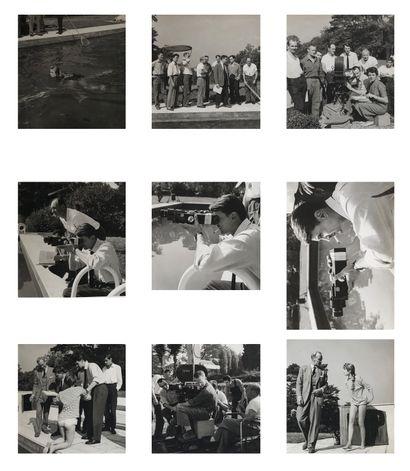 Photographe de plateau Cinéma, 1956-1962....
