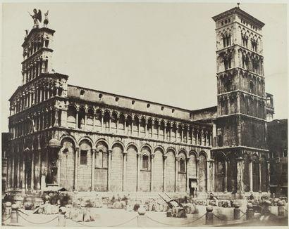 Photographe non identifié Lucca, c. 1855. Duomo di San Martino. Épreuve sur papier...