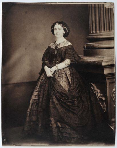 Samuel Adam-Salomon (1818-1881) Femme en...