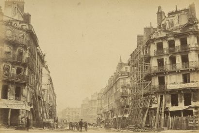 Photographe non identifié Paris Incendié,...