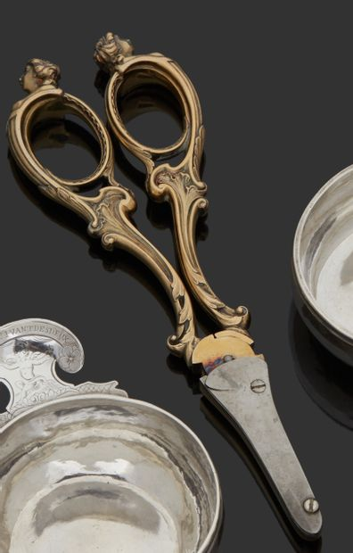 LONDRES 1914 - 1915 Paire de ciseaux à raisin...