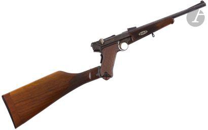 Pistolet carabine Luger modèle 1902, calibre...