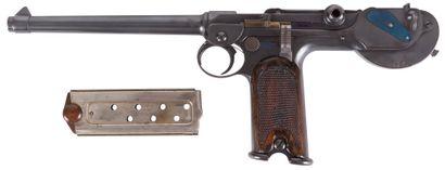 Beau pistolet « Borchardt C-93 », huit coups,...