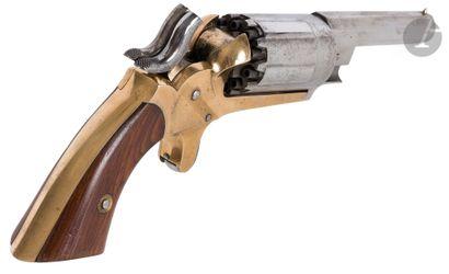 Pocket revolver à percussion « John Walch...