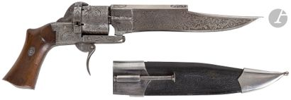Couteau revolver « Dumonthier-Lefaucheux...