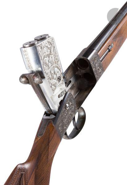 Rare et étonnant fusil à système, prototype...