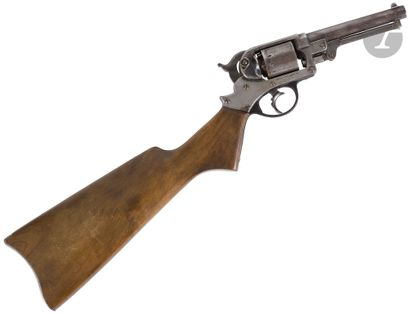 Revolver « Starr Army » modèle 1858 double...