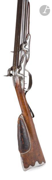 Intéressant fusil de chasse à système « Limacher...