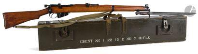 Fusil MKI N° 2, calibre 22.  Canon avec hausse...