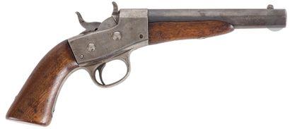 Pistolet Remington « Rolling block » modèle...