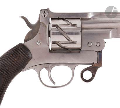 Revolver Mauser système « Zick-Zack » (« Zig-Zag »), patentes de 1878, 6 coups,...