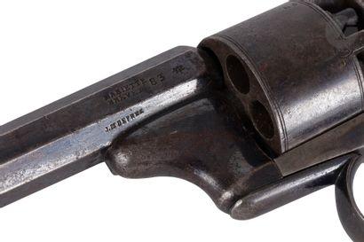 Revolver « Mariette-Deprez » à percussion, six coups, calibre 8 mm  Canon à pans,...