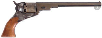 Revolver Texas Patterson, cinq coups, calibre...