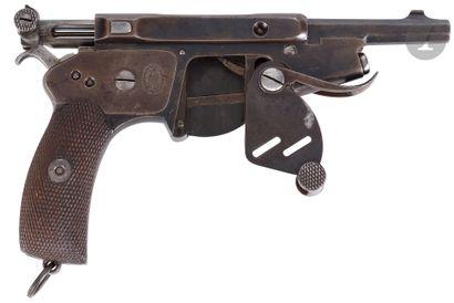 Rare pistolet semi-automatique « Bergmann...