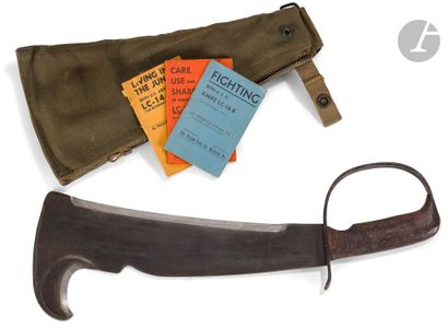 Machette « US ARMY KNIFE LC 14 B ».  Poignée...