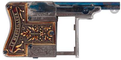 Pistolet « Le merveilleux », modèle de luxe,...