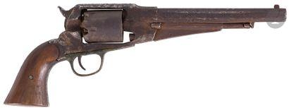 Revolver Remington modèle 1861 à percussion,...