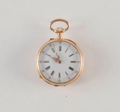 Le Coultre. Une montre de poche en or (18K)...