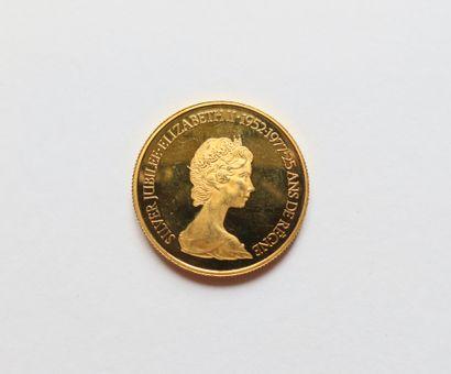 1 pièce de 100 Dollars canadiens en or (22K)....