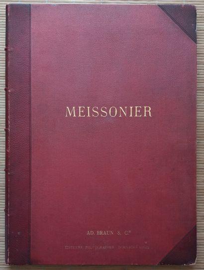 [ART - MEISSONIER, ERNEST] 1 ouvrage de reproductions...