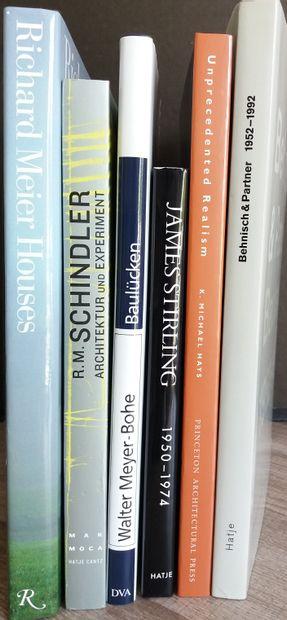 [ARCHITECTURE - MEIER, RICHARD & autres Monographies d'Architectes] Ensemble de...