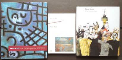 [ART - KLEE, PAUL] Lot de 6 ouvrages sur Paul Klee. *Paul Klee. Par Philippe Comte....