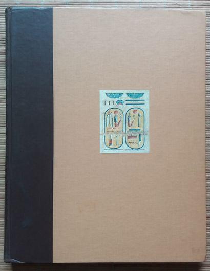 [ARCHÉOLOGIE - ÉGYPTOLOGIE] 1 ouvrage. *Medinet Habu - Volume VII Plates 483-590....
