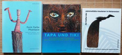 [ART DU PACIFIQUE] 3 ouvrages en allemand....
