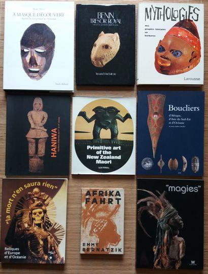 [ART PRIMITIF] 9 ouvrages. *Bénin. Trésor...