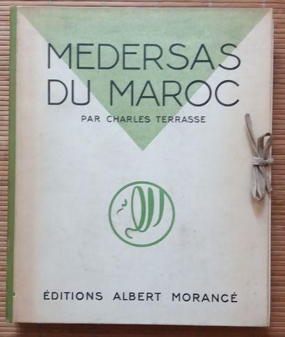 [ARCHITECTURE - MAROC] 1 ouvrage. *Médersas...