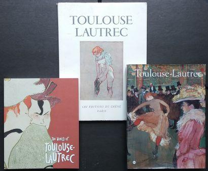 [ART - TOULOUSE-LAUTREC] 3 ouvrages sur Toulouse...