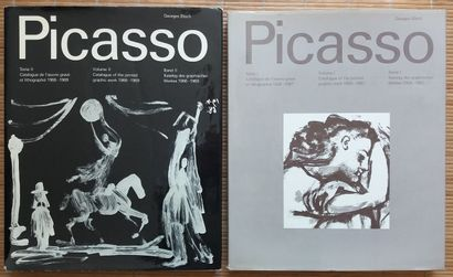 [ART - PICASSO] 2 ouvrages. *Picasso. Catalogue...
