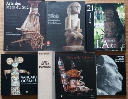 [ART DU PACIFIQUE] 7 ouvrages en français....