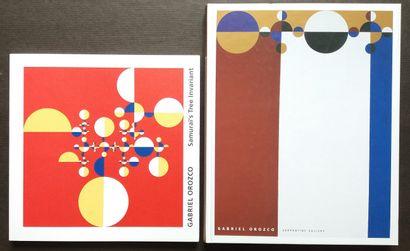 [ART - OROZCO, GABRIEL] 2 ouvrages. *Gabriel...