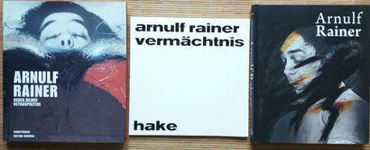 [ART - ARNULF, RAINER] 3 ouvrages sur Rainer...