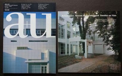 [ARCHITECTURE - MEIER, RICHARD] 4 ouvrages sur Richard Meier. *Richard Meier. Museum...