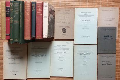 [GÉOLOGIE] 42 ouvrages, livres ou plaquettes,...