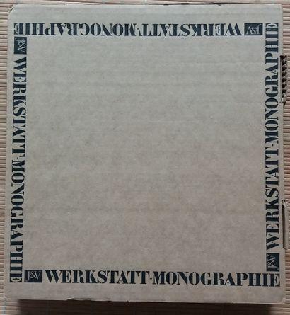 [ART - JANSCHKA, FRITZ] 1 ouvrage en tirage de tête, avec 3 lithographies signées....