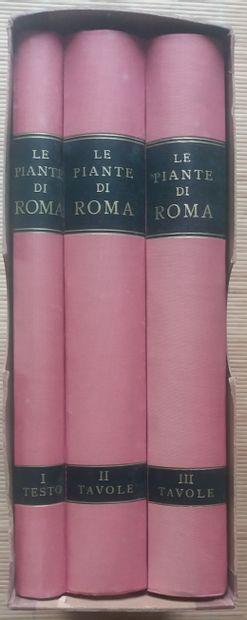 [ART - ROME] 1 ouvrage en 3 tomes. *Le Piante...
