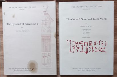 [ARCHÉOLOGIE - ÉGYPTOLOGIE] 17 ouvrages en anglais. *The Old Kingdom Tombs of El-Hammamiya....