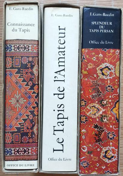 [TAPIS] 3 ouvrages, par E. Gans-Ruedin. *Le...